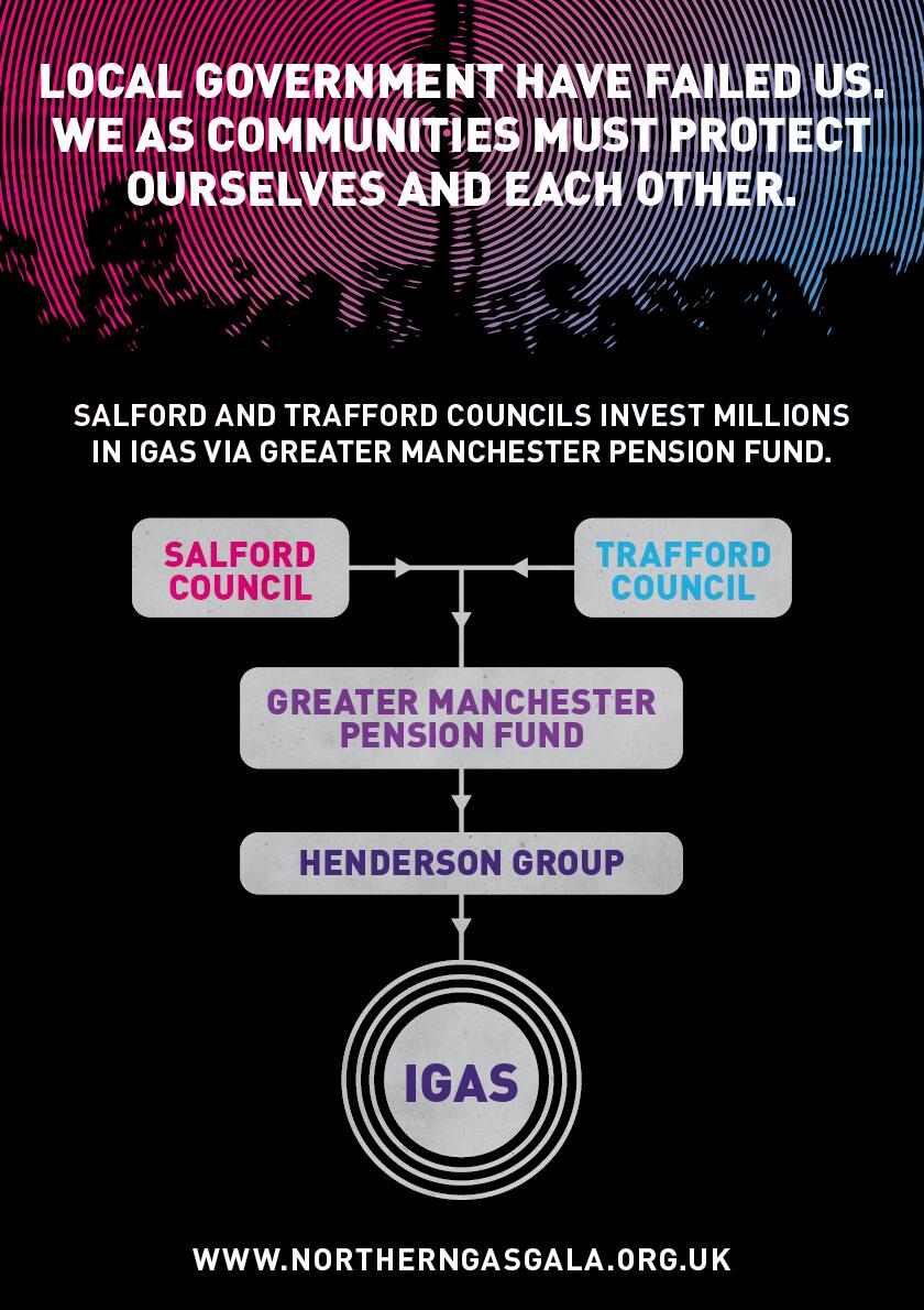 Salford and Trafford Councils investing in iGas