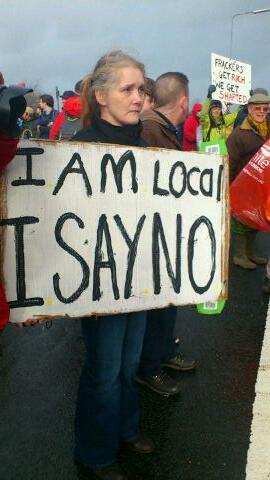 I am Local I say No