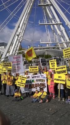 Nanas Against Fracking
