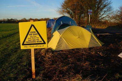 Roadside camp at Barton Moss