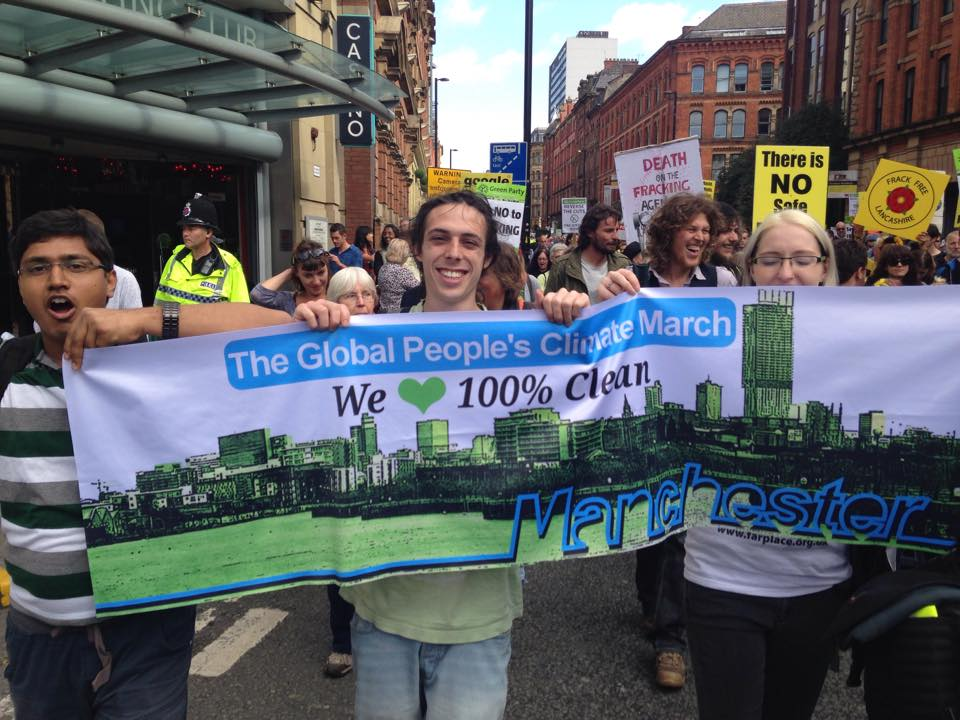 Manchester Global March
